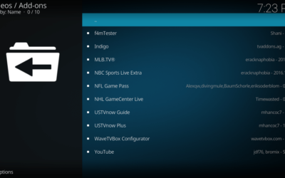 Installing 3rd Party KODI Add-ons (Reinstalling Disappeared)