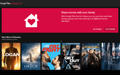 Using the Google Play Movies & TV Shows App